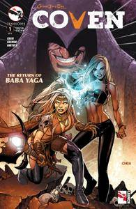 Grimm Fairy Tales Presents Coven 0012015 2 covers Digi-Hybrid