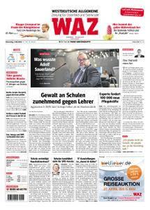 WAZ Westdeutsche Allgemeine Zeitung Oberhausen-Sterkrade - 03. Mai 2018