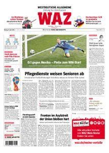 WAZ Westdeutsche Allgemeine Zeitung Oberhausen-Sterkrade - 18. Juni 2018