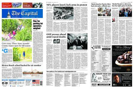 The Capital – September 25, 2017