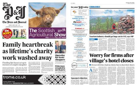 The Press and Journal Moray – June 29, 2020