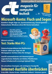 ct Magazin für Computertechnik - 05 Juni 2021