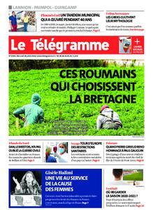 Le Télégramme Guingamp – 29 juillet 2020