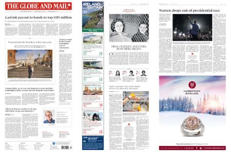 The Globe and Mail – March 06, 2020