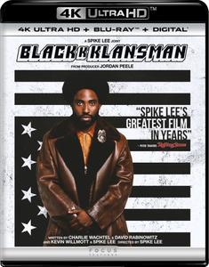 BlacKkKlansman (2018) [4K, Ultra HD]