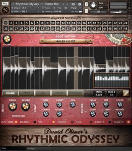 Soundiron David Oliver's Rhythmic Odyssey v1.0.0 KONTAKT