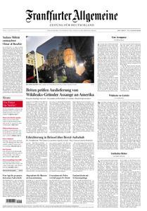 Frankfurter Allgemeine Zeitung F.A.Z. - 12. April 2019