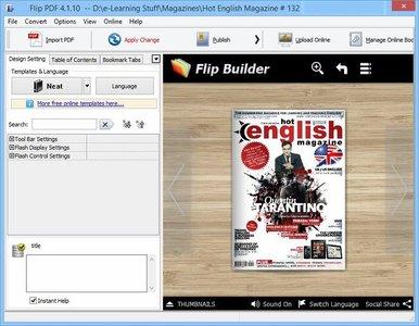FlipBuilder Flip PDF 4.4.7.0 Multilingual