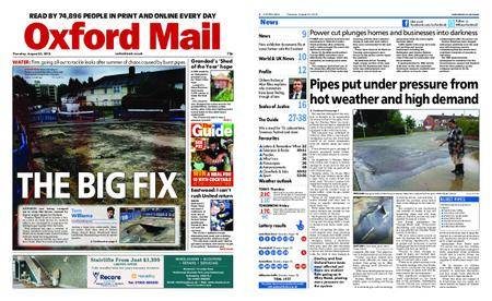 Oxford Mail – August 23, 2018