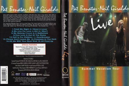 Pat Benatar & Neil Giraldo - Live (Summer Vacation Tour) (2002)