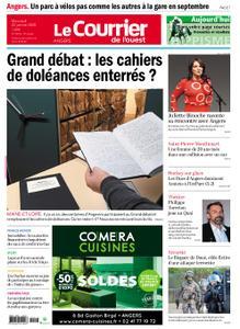 Le Courrier de l'Ouest Angers – 22 janvier 2020