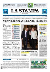 La Stampa Torino Provincia e Canavese - 14 Maggio 2020
