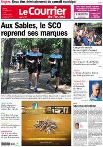 Le Courrier de l'Ouest Angers - 14 juillet 2018