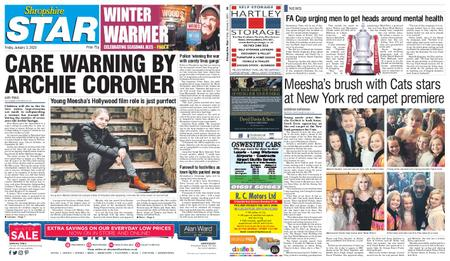 Shropshire Star Shrewsbury Edition – January 03, 2020