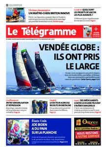 Le Télégramme Quimper – 09 novembre 2020