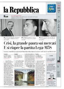 la Repubblica - 30 Maggio 2018
