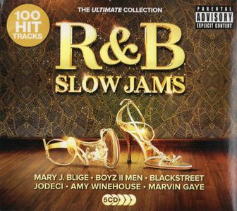VA - R&B Slow Jams The Ultimate Collection (5CD, 2019)