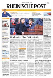 Rheinische Post – 15. April 2019