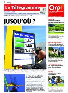 Le Télégramme Auray – 07 mai 2019