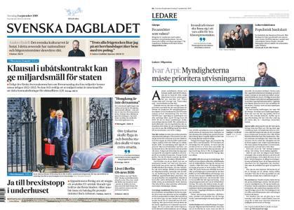 Svenska Dagbladet – 05 september 2019