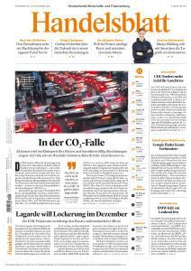 Handelsblatt - 12 November 2020
