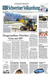 Schweriner Volkszeitung Hagenower Kreisblatt - 05. November 2019