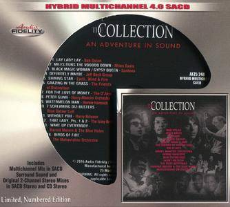Various Artists - The Collection: An Adventure In Sound (2016) [Audio Fidelity] MCH PS3 ISO + Hi-Res FLAC