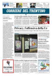 Corriere del Trentino - 8 Novembre 2017