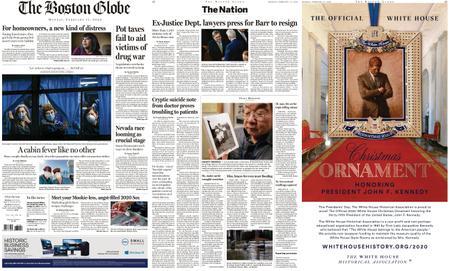 The Boston Globe – February 17, 2020