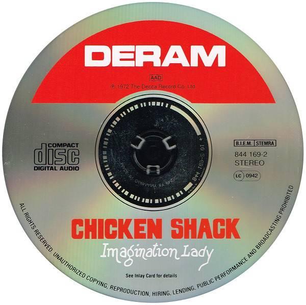 Chicken Shack - Imagination Lady (1972) {1994 Deram}