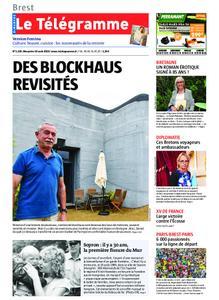 Le Télégramme Brest Abers Iroise – 18 août 2019