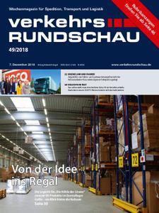 VerkehrsRundschau - 10. Dezember 2018