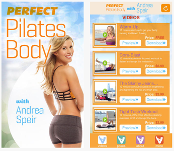 Andrea Speir - Perfect Pilates Body