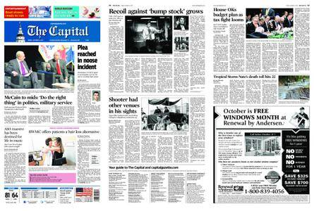 The Capital – October 06, 2017
