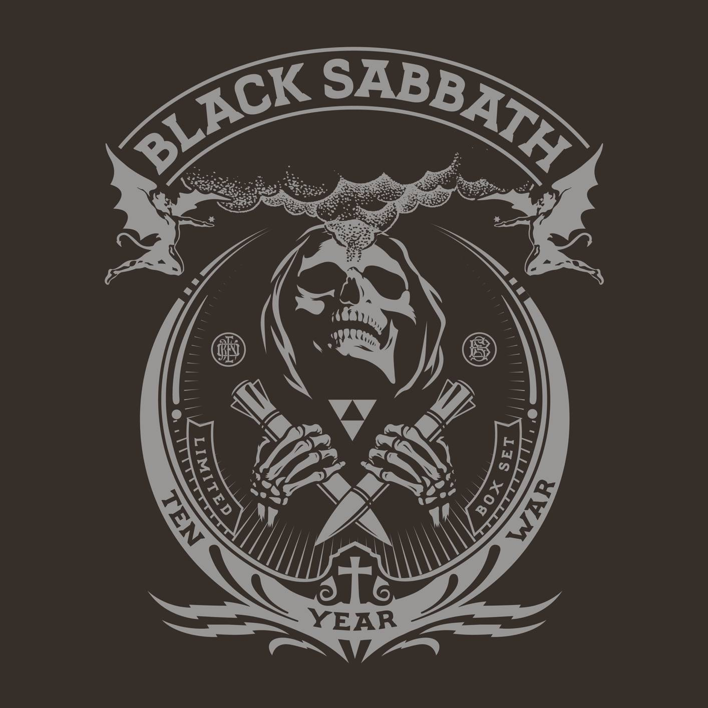 Black Sabbath - The Ten Year War {8CD Box Set} (2017) [Official Digital Download 24bit/96kHz]