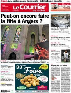 Le Courrier de l'Ouest Angers - 27 janvier 2018