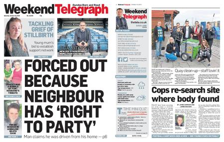 Evening Telegraph First Edition – October 19, 2019
