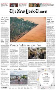 International New York Times - 12 June 2020