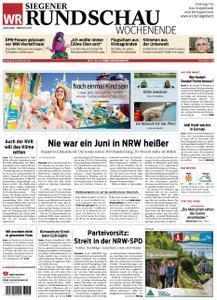 Westfälische Rundschau Siegen - 29. Juni 2019