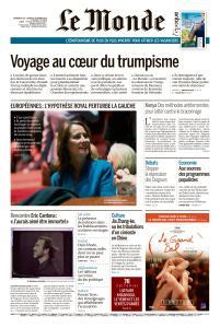 Le Monde du Dimanche 28 et Lundi 29 Octobre 2018