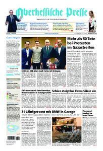 Oberhessische Presse Marburg/Ostkreis - 15. Mai 2018