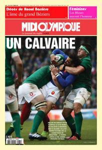 Midi Olympique Rouge - 11 Mars 2019