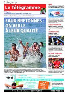 Le Télégramme Guingamp – 27 juillet 2019