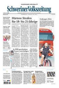 Schweriner Volkszeitung Hagenower Kreisblatt - 07. Juni 2018