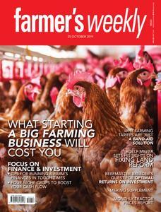 Farmer's Weekly - 25 October 2019