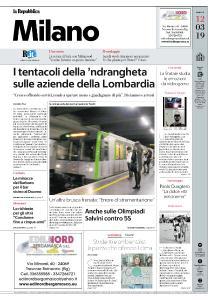 la Repubblica Milano - 12 Marzo 2019