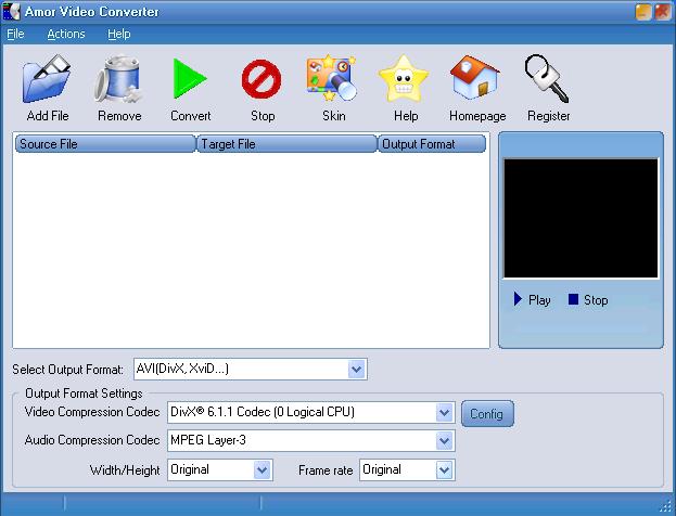 Portable Amor Video Converter v2.1.2