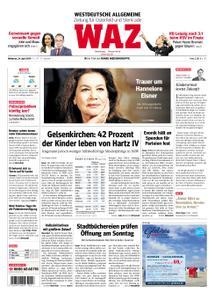 WAZ Westdeutsche Allgemeine Zeitung Oberhausen-Sterkrade - 24. April 2019