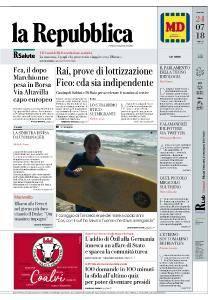 la Repubblica - 24 Luglio 2018