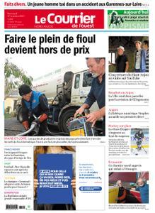 Le Courrier de l'Ouest Nord Anjou – 27 octobre 2021